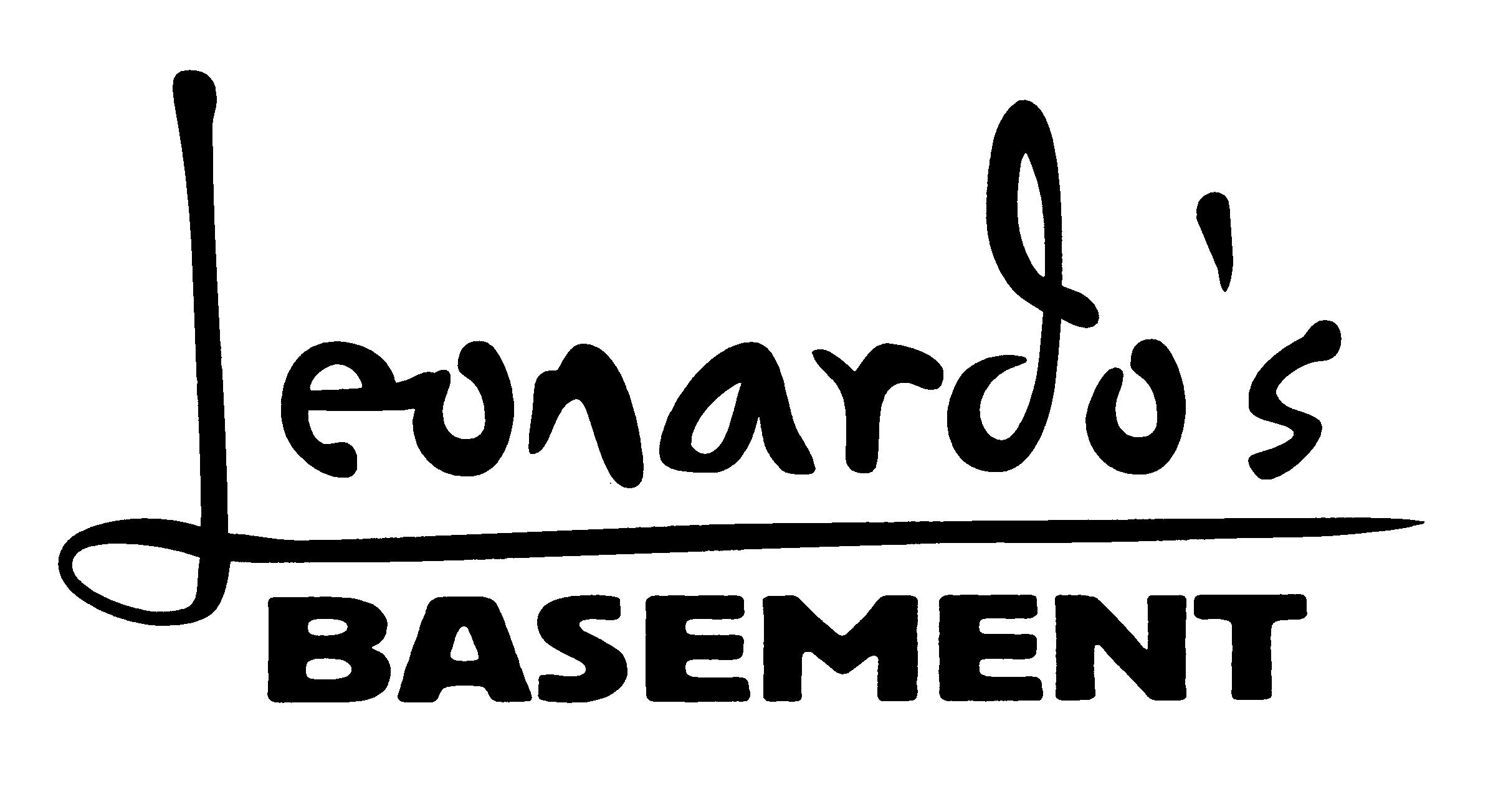 Stuff - Leonardo's Basement