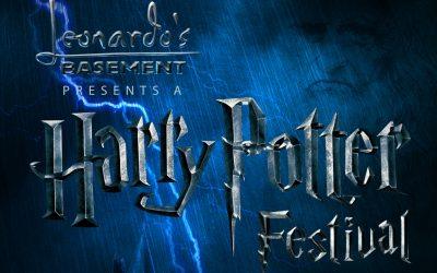 Harry Potter week July 8-13