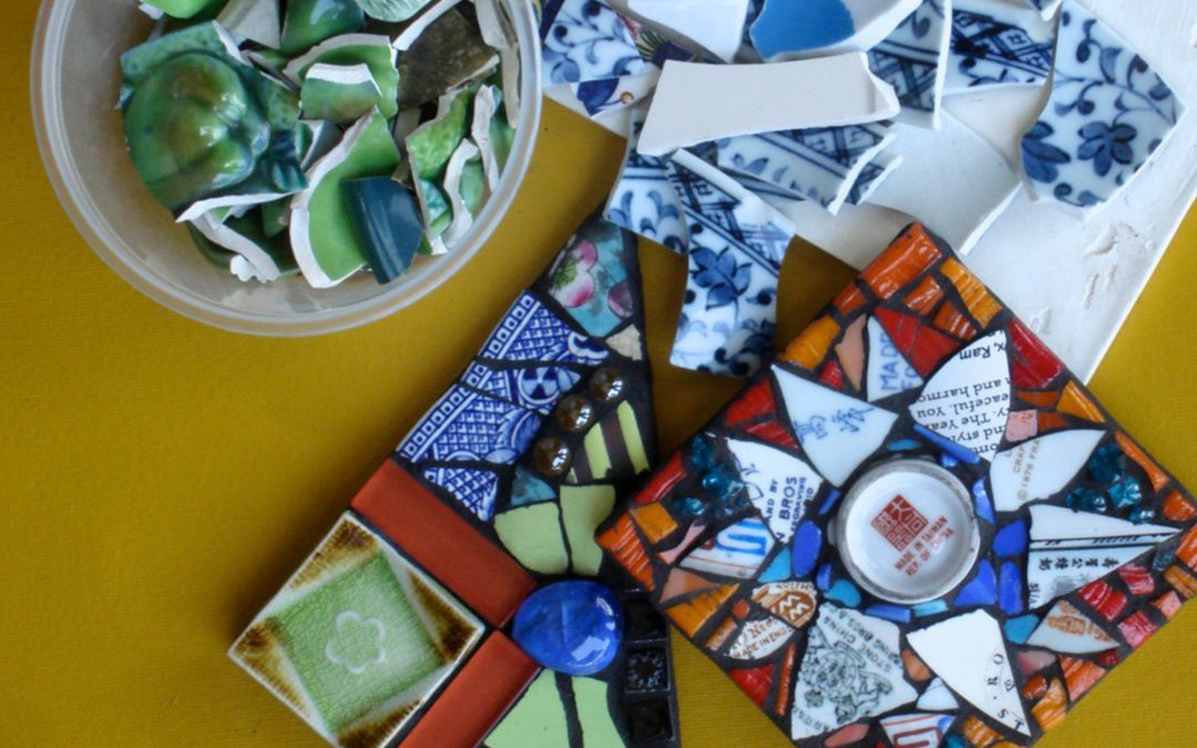 Adult Mosaics, Reimagined Toys, Spring Break & Welding