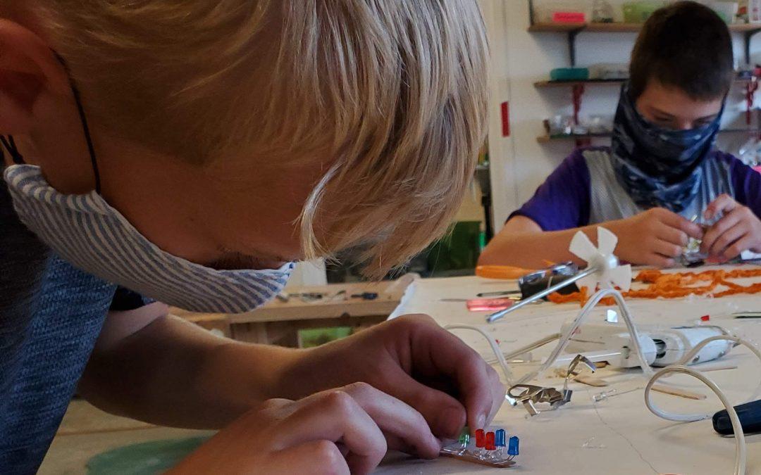 In-person workshops resume October 9